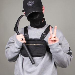 Kleine Männer Chest Rig Bag Street Outdoor Sports Hüfttasche Military Wasserdichte Umhängetasche Telefon Geldgürtel Tactical Chest