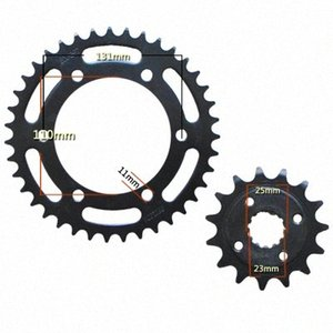 For ZZR250 GPZ250 250 Motorcycle Front & Rear Sprocket geartransmission 520 15T 39T BNOr#