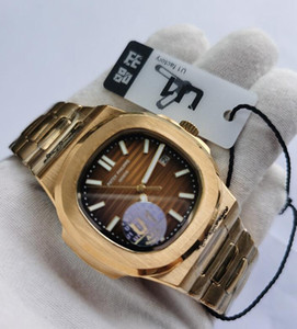 مصنع U1 الجملة ارتفع الذهب الرجال ووتش حركة أوتوماتيكي الإنزلاق تهدئة الفضة من جهة ثانية الياقوت والزجاج، والذهب ساعة اليد