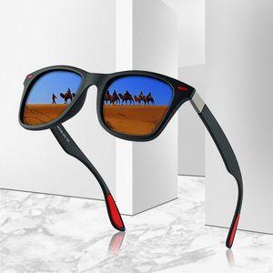 Brand Design Classic Polarized Sunglasses Men and Women Driving Box Sunglasses Men's Glasses UV400 Protection Vision