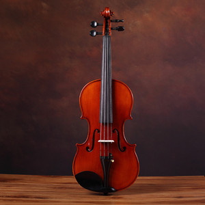 Специальные скрипки Tiger Pattern Handmade Student Adult твердой древесины для экспертизы