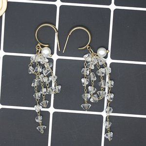 S925 серебряная игла изысканный кристалл из бисера бисера бриллиантовое кольцо элегантный Super Flash Rhinestone кольца маленькие серьги женские серьги