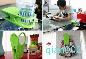 Wasserbecher Drinklip Becherhalter-Glasbecher Tischglashalter Büro Glasvoll Glass Clamp nach Hause Werkzeuge FFA1600 Clip