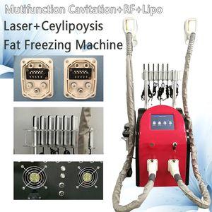 Professionelle Zeltiq Körper schlank 40K Cavitation Hautpflege Ausrüstung VakuumkörperMassager RF Cavitación Lipolaser Beauty-Salon-Ausrüstung