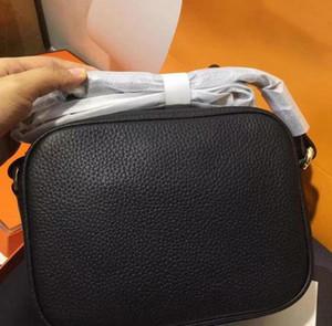 tamaño de 20 * 16 * 7cm de alta calidad de A ++ Moda hombro de las mujeres del bolso de la borla de Soho bolsas bolsa de mensajero negro crossbaby bolsos del monedero del bolso con la bolsa