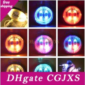 100pcs (50 Paare) Art und Weise Luminous LED Shoelaces Elektronischer Betrieb Blitz-LED-Leuchten für Nacht Sport Disco Party Glühen-Spitze