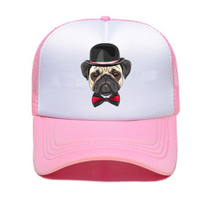 cute dog Trucker Cap Pike Fishing Caps for Man Camouflage Fishing Hat Baseball Cap Cat Summer Cool Mesh Caps Me