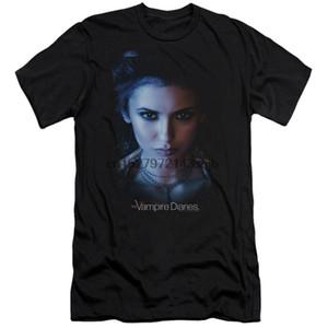 The Vampire Diaries Elena Adult Photo Slim Fit Camiseta
