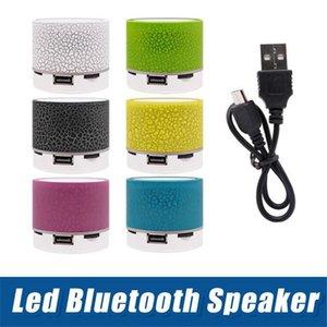 Мини-A9 Bluetooth Speaker беспроводные колонки водить Цветные вспышки Handsfree стереосистема Fm радио Tf карты USB для мобильного телефона компьютера