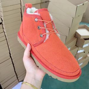 Australie botas zapatos de cuero genuino para las botas de invierno de los niños Mujer Ocasional otoño para mujer botines Botas Mujer Mujer WGG ZAPATOS 30-44