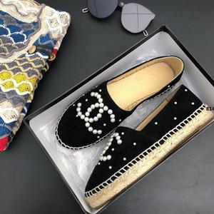 814 con la caja 2020 Nuevo Mejor zapatos de lujo zapatos de la mujer Mujer Alpargatas Pescador zapato de tacón de cuero genuino Muchos colorean