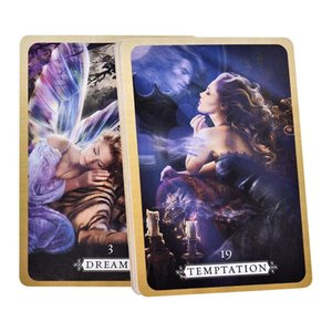 36 Pcs Tarot Cards Heal Yourself Reading Cards Board Games Party Supplies For Adult Children Party Entertainment yxlfLO longdrake