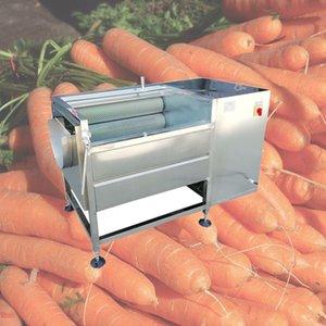 Populaire prix de la machine à laver la carotte occasion commerciale multifonctionnelle petite entreprise Machine à laver gingembre frais