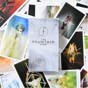 Conselho de Família Cartões 79pcs plataforma Cartões Illustrated O Partido Guia Fountain Tarot Jogo 79pcs D5ba E bbyBho bwkf