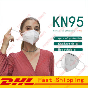 KN95 Gesichtsmaske staubfest Splash Proof