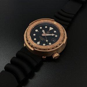 orologio subacqueo sabbia levigatura vigilanza degli uomini Steeldive SD1975S movimento meccanico cristallo NH35 300M immersioni zaffiro