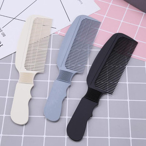 Carbon Fiber Anti-Static 3D Hairdressing Comb Black Handle Hair Brushes Comb Clipper Barber Haircut Brush Salon