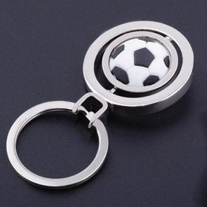 2018 Football Basketball Rotating Key Cup Gifts Chain Golf Chain Pendant Pendant Keychain Soccer World Key queen66 nxGBf