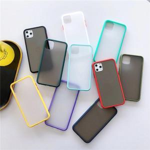 2020 Новый Абонентный Прозрачный Матовый Прозрачный Силиконовый Чехол для телефона Для iPhone 12 Mini 11 Pro Max XR XS MAX 6 7 8 PLUS