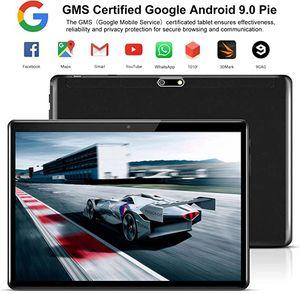 Tablette الروبوت سوبر خفف 2.5D شاشة 10 بوصة قرص كمبيوتر الروبوت 9.0 32GB ROM واي فاي GPS لعب مخزن 64GB SD بطاقة هدية مجانية