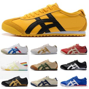 Asic Onitsuka Tiger Running Shoes Womens Bruce Mens Athletic tamanho vermelho lee confortável apartamento Trainers Outdoor Sports Sneakers 36-44