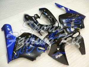 ABS هدية لكاواساكي ZX9R 1994-1997 أسود أزرق Fairings للإطار لكاواساكي ZX9R 1994 البلاستيك Fairings للZX 9R 1997