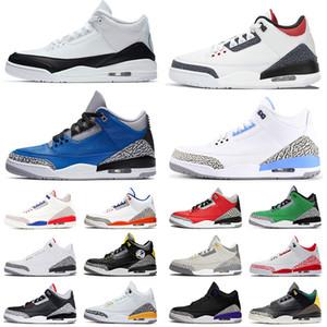 nike air jordon 3 retro jordans 3s jumpman los hombres de alta calidad de las mujeres zapatos de baloncesto nueva unc fragmento de knicks rivales para hombre zapatilla de deporte