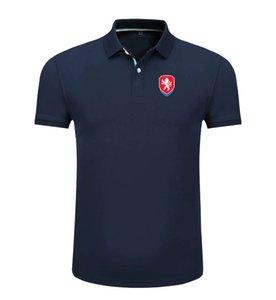 Çek Cumhuriyeti 2020 ilkbahar ve yaz yeni pamuk futbol polo yaka erkek kısa kollu yaka unisex polo can DIY özel erkek polo gömlek