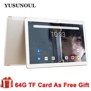 새로운 Yusunoul Tablet PC 무료 배송 10 인치 안드로이드 9.0 태블릿 Google Play 전화 GPS 와이파이 블루투스 강화 유리 10 인치