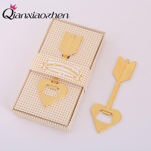 Qianxiaozhen 10pcs Cupid Arrow Bottle Opener Wedding Favors And Gifts Wedding Gifts For Guests Souvenirs Party Supplies