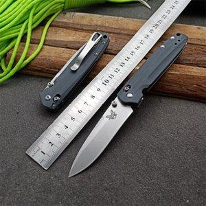 benchmade BM485 D2 axe couteau d'entraînement de papillon EDC Camping Survival couteau pliant la a3062