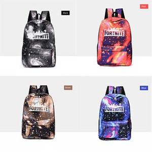Biggie Orso Fortnite cielo stellato Fortezza Notte zaino Cool Daypack Via Schoolbag Spray Zaino Scuola di Sport sacchetto esterno Day Pack # 523