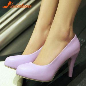 Обувь платье Бренд Большие размеры 43 Высокие каблуки Классическая Элегантная Повседневная Жизнь Матч Офис Леди Женская женщина Насосы Обувь