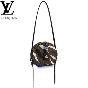 llckj1556 2PWG M45095 BOITE CHAPEAU SOUPLE League of Legends limited round cake bag WOMEN HANDBAGS ICONIC BAGS TOP HANDLES SHOULDER BAGS TOT