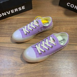 New arrivel rainbow stan mens Plate-forme sneakers with crystal purple Strap on flat-bottomed walking shoes free shipping#1F
