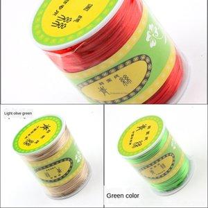 Korean Leitungsqualität DIY7 Linie handgewebte Chinese Seil spezielles Hoch geflochtenes Polyester Diy geflochtenes Seil chinesische Knoten 80m knot Gewinde cysHB