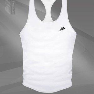 Muscle estetik spor gevşek dikiş antrenman giysileri kolsuz streç çalışan örgü yelek spor erkek yeleği
