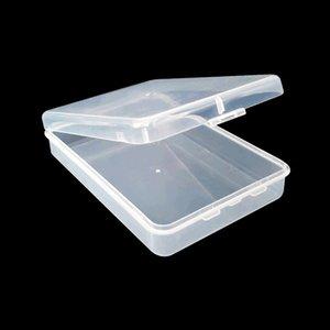 113 * 91 * 27mm 얼굴 컨테이너 보호 케이스 컨테이너 메모리 카드 박스 저장 도구 플라스틱 투명 저장이 쉽게 캐리 BWE607 마스크