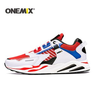 ONEMIX 1666 Retro pattini correnti degli uomini Large Size Sneakers selvatici comode scarpe casual corsa esterna Harajuk Walking scarpe da jogging