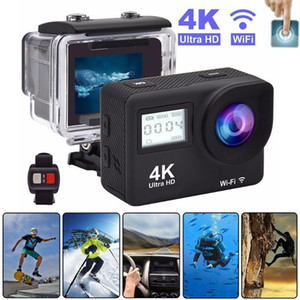 2.0Inch Touch Screen WiFi Action Camera Ultra HD 4K 30fps Underwater Waterproof Helmet Video Recording Cameras Outdoor Sport Cam