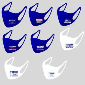 DHL 2020 Seçim Maske Trump Joe Biden Amerika Büyük Yine Cosplay Parti Yüz Maskesi Anti Toz Ağız Yeniden kullanılabilir Beyaz Mavi tutun