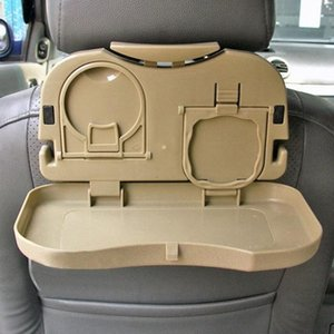 Car -Hot New Folding Auto Car Back Seat Table Drink Cup Coffee Cup Tray Holder Stand Desk Hot Interior lVvY#