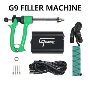Vape Kalın Yağ Kartuş Otantik 1ml 0.5ml için Gun Dolum% 100 Orijinal GREENLIGHTVAPES G9 Arabaları Dolum Makinesi Yarı Otomatik Enjeksiyon