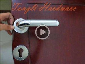andle iç oda kapı çekme wasroom mobilya kolu tedavi kumlama yeni paslanmaz çelik 304 Diamond lock59