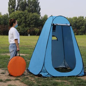Outdoor Rain Shelter Camp Toilet Dressing Room Privacy Tent w  Window Outdoor Shower Tent Camp Toilet Changing Room