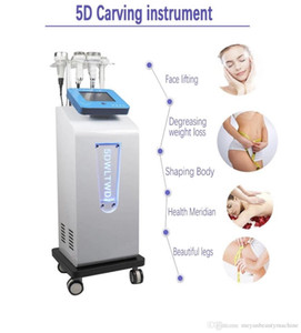 2020 nouvelle 6 en 1 à ultrasons 80K Cavitation Et Minceur Visage Body Shaping vide Liposuccion DDS Rouleau de massage levage Instrument