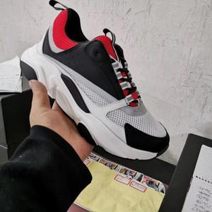 B22 Eğitmenler Lüks Erkek Ayakkabı Siyah Kırmızı Erkek Sneakers İndirim Rahat Ayakkabılar Sneaker Yeni Koleksiyon Açık Ayakkabı