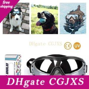 Sicurezza delle forniture Pet occhiali di protezione impermeabile antivento Sun -proof Dog Occhiali protettivi Occhiali Outdoor ultravioletta -proof occhiali per cani