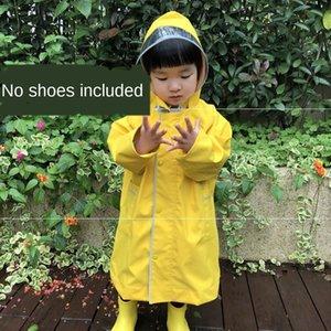 Kızlar Schoolbag dişli Cloak yağmur dişli' çocuk anaokulu bebeğin schoolbag rüzgar geçirmez çocuk Boy'un yağmur dişli yağmurluk panço