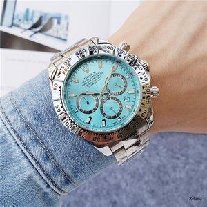 Alto hombre de la calidad relojes de lujo reloj a estrenar de diseño de acero inoxidable de negocios moderno reloj de pulsera TAG Navidad Relógio regalo r
